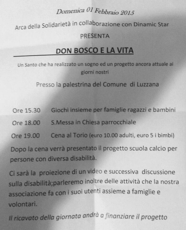 Don Bosco e la vita