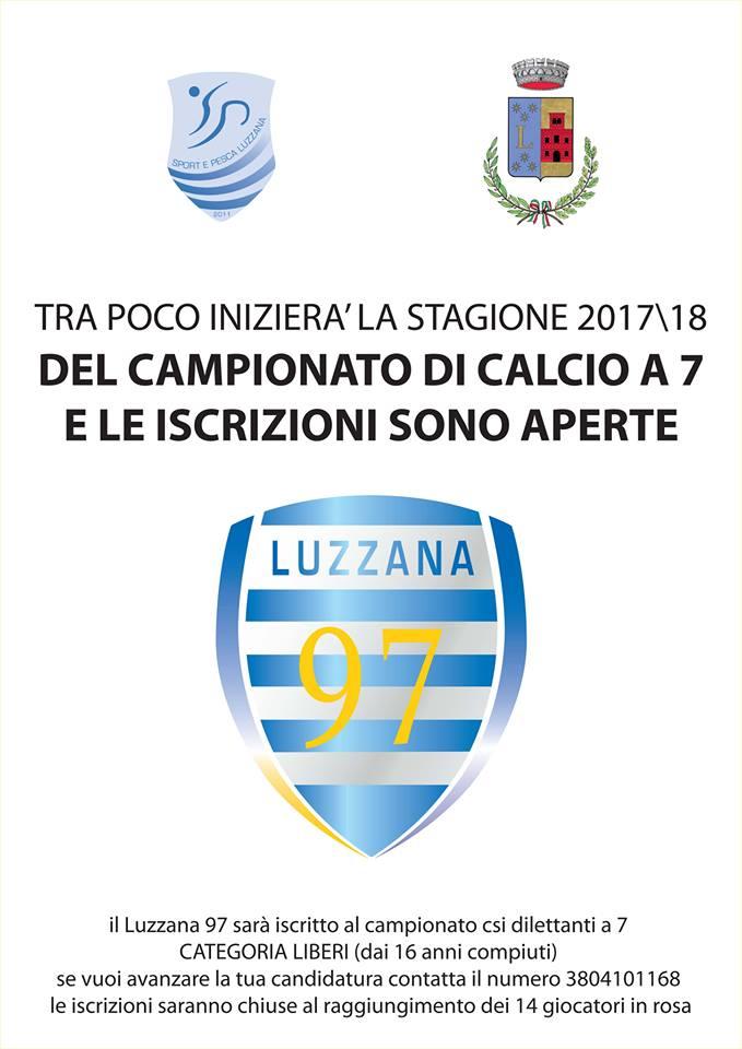 Apertura Iscrizioni Campionato di Calcio a 7